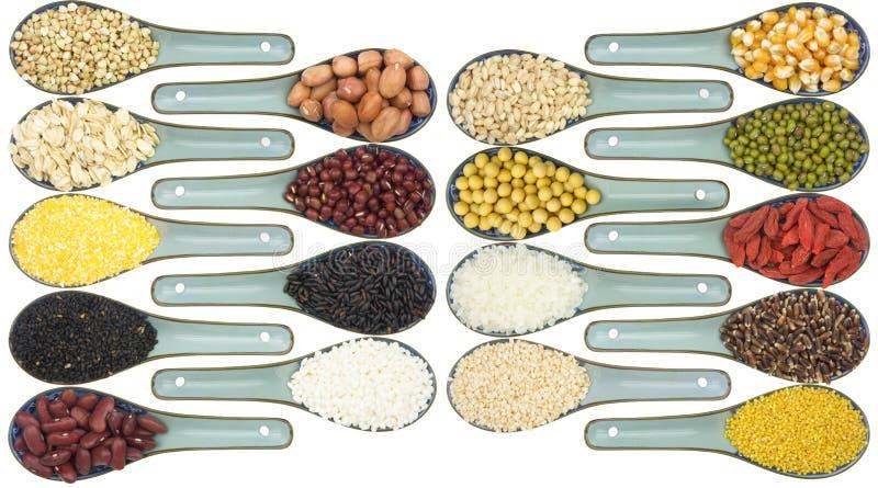 Download Colección del grano foto de archivo. Imagen de proteína - 41913392