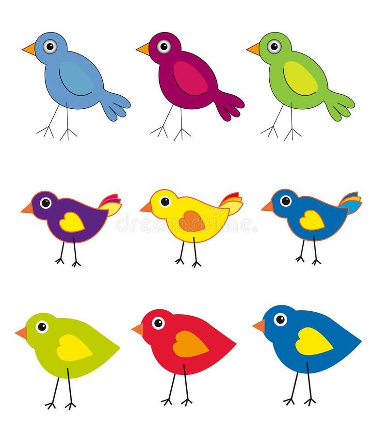 Colección del pájaro libre illustration