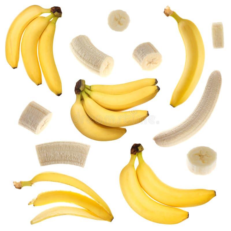 Colección del plátano imagenes de archivo