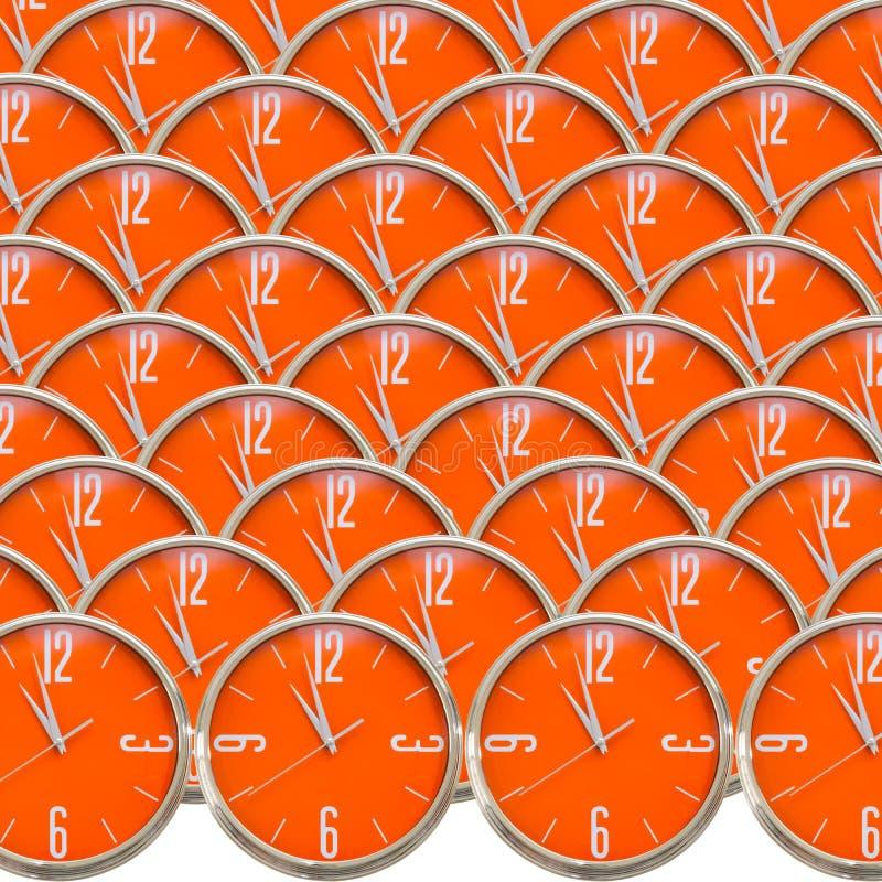 Colección del reloj imagen de archivo