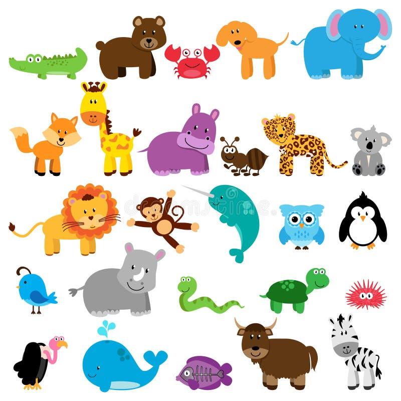Colección del vector de animales libre illustration