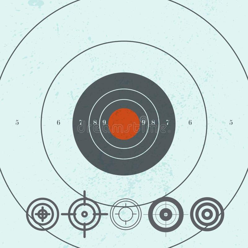 Colección del vector de iconos planos de la blanco ilustración del vector