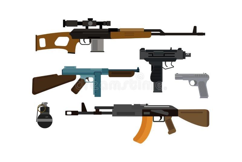 Colección del vector de las armas libre illustration