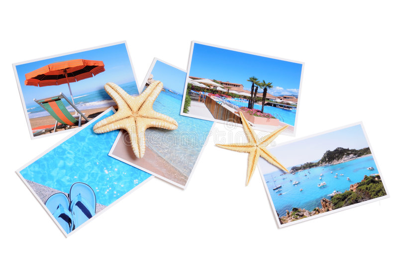 Colección del verano fotografía de archivo libre de regalías