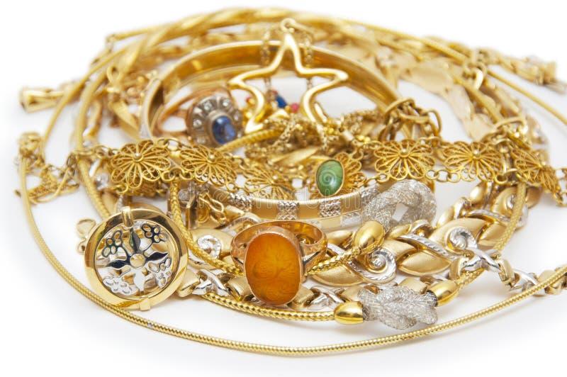 coleccin grande de joyera del oro