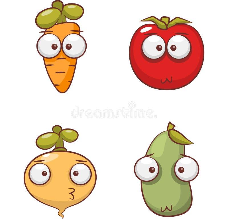 Colección vegetal del icono para todo el diseñador ilustración del vector