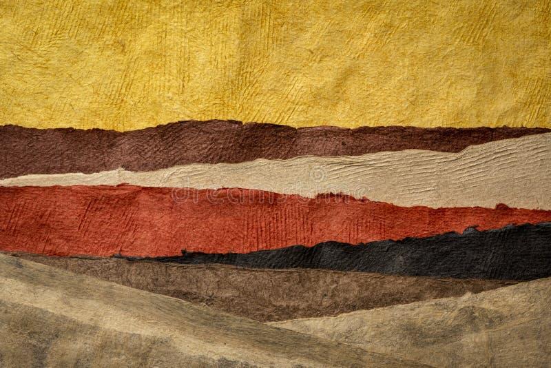 Colecci?n de hojas de papel texturizadas coloridas fotos de archivo libres de regalías