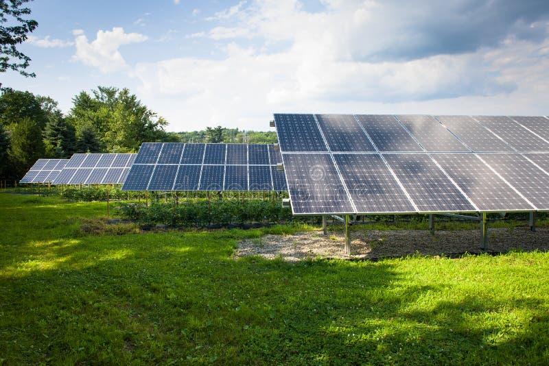 Colectores solares imagen de archivo libre de regalías