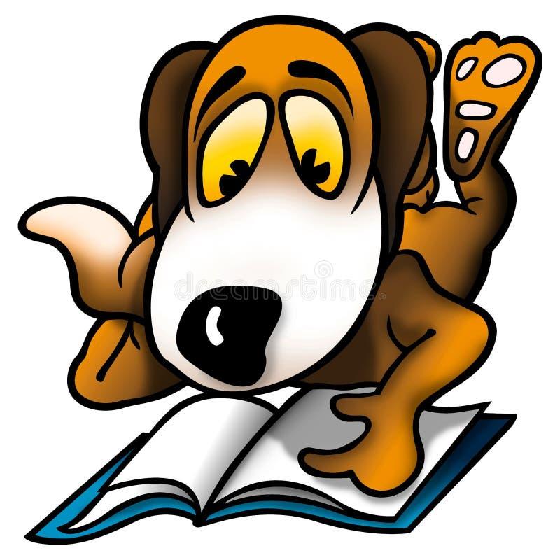 Colegial del perro libre illustration