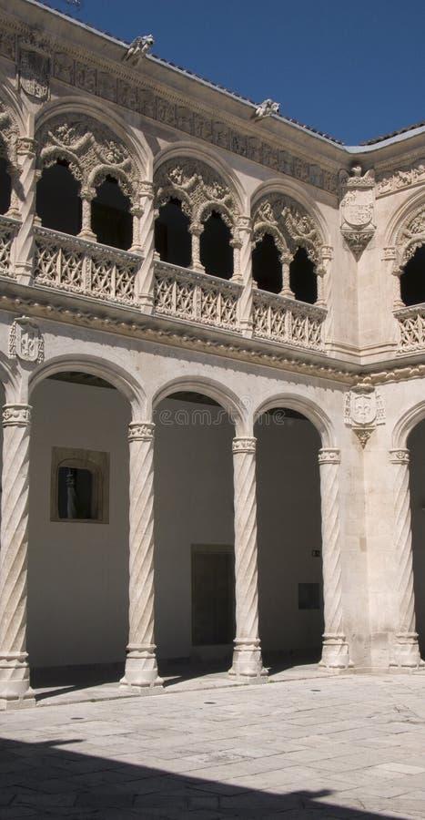 Colegio de San Gregorio. Valladolid. Spain. stock image