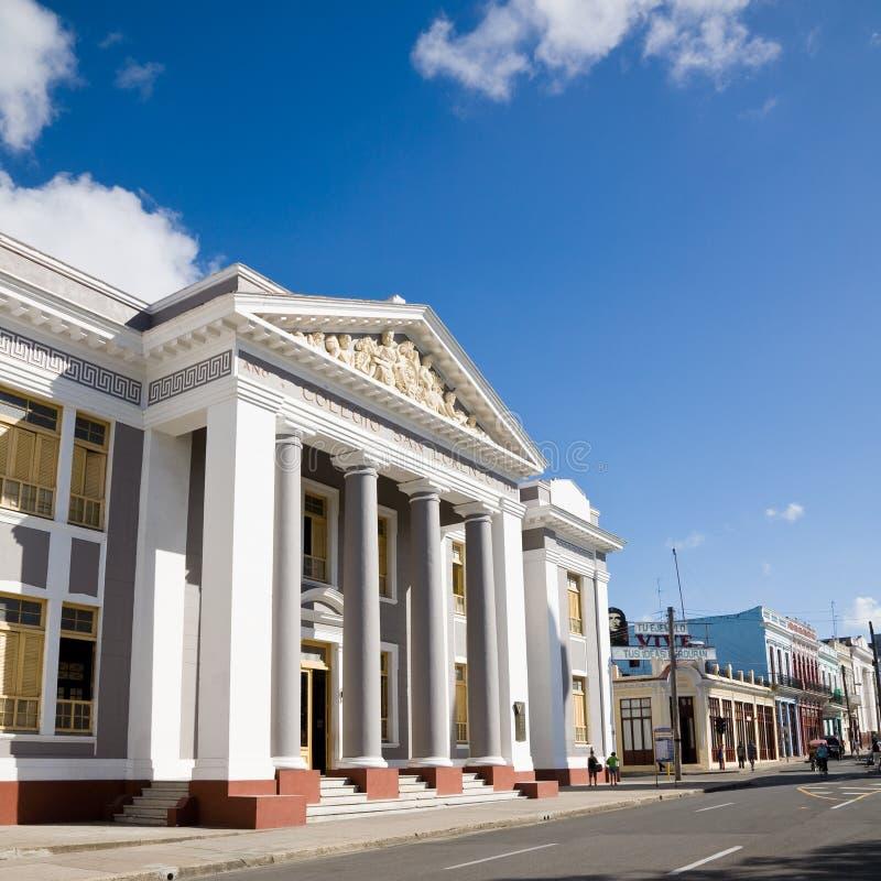Colegio SAN Lorenzo, Cienfuegos στοκ φωτογραφία