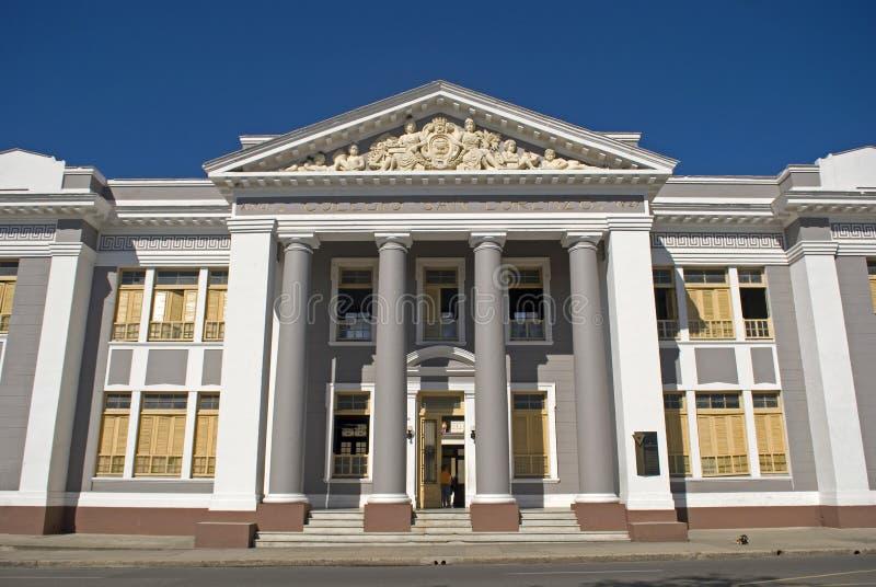 Colegio San Lorenzo, Cienfuegos, Cuba royalty-vrije stock fotografie