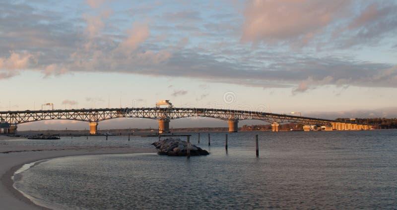Coleman Bridge fotos de archivo libres de regalías