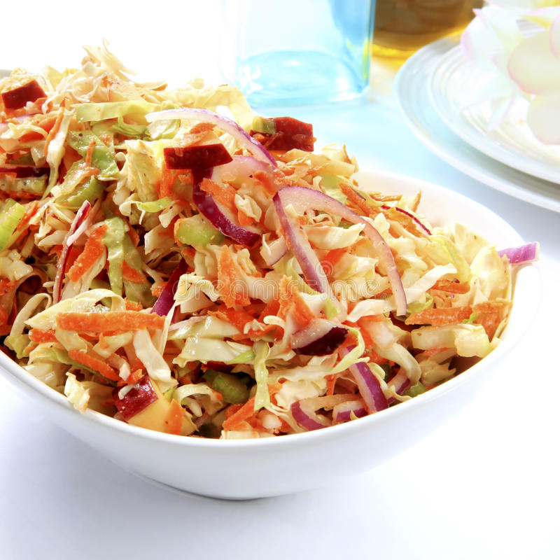 Coleslaw Royalty Free Stock Photography