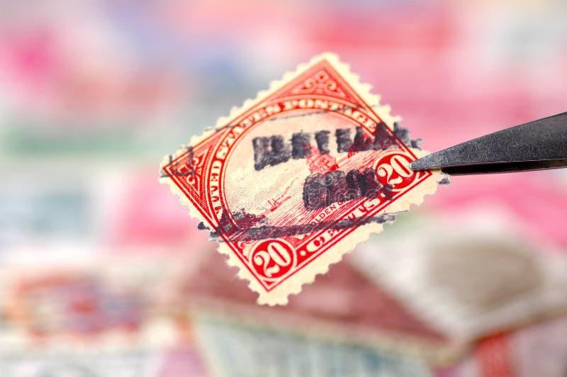 Coleta de selo imagem de stock royalty free