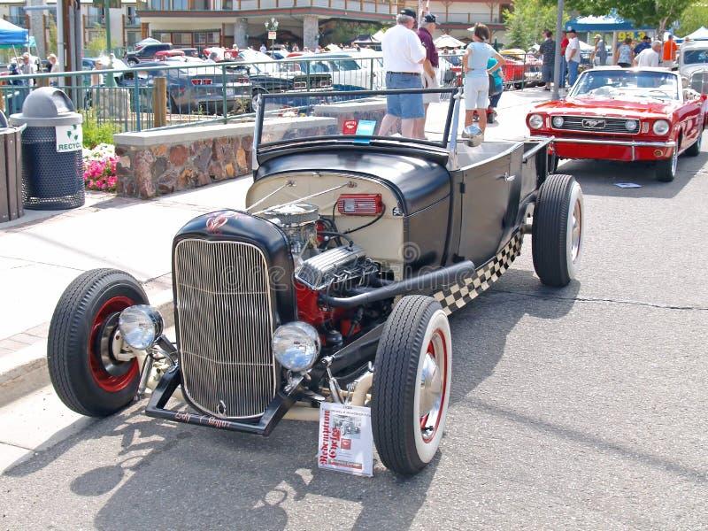Coletor 1929 do Roadster de Ford fotos de stock