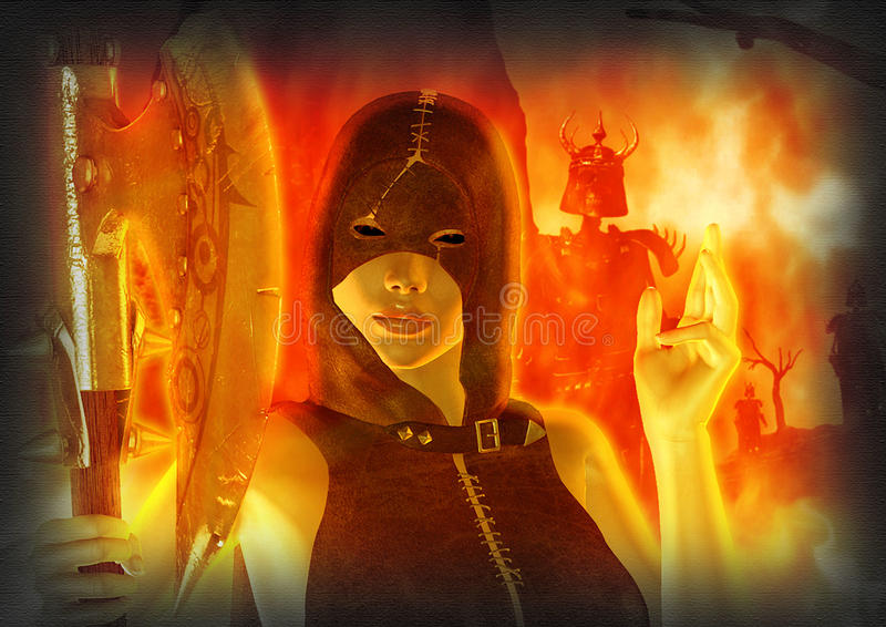Download Coletor da alma imagem de stock. Imagem de vermelho, esqueleto - 80102453