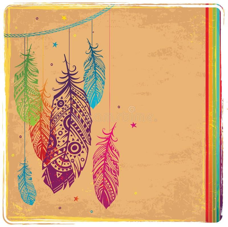 Coletor ideal étnico ilustração royalty free