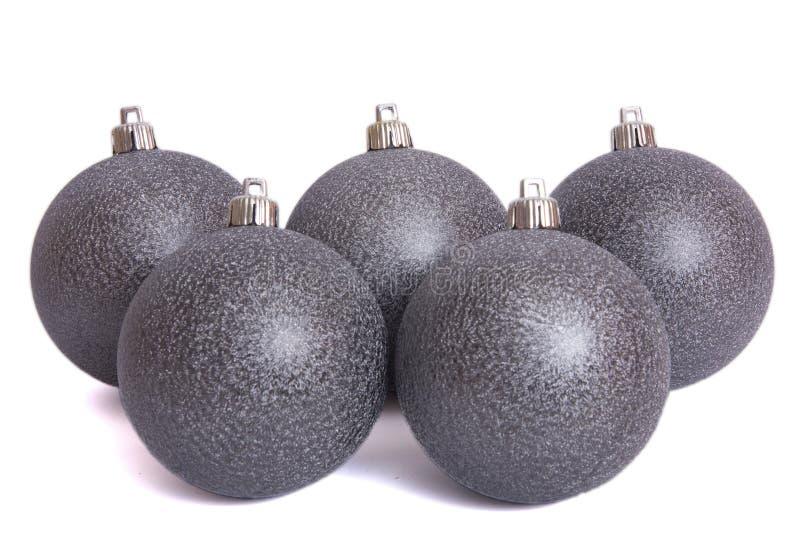 Colgante de la bola de la Navidad fotos de archivo