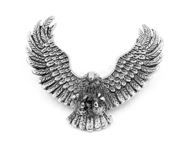 Colgante de la joyería - Eagle - acero inoxidable foto de archivo libre de regalías