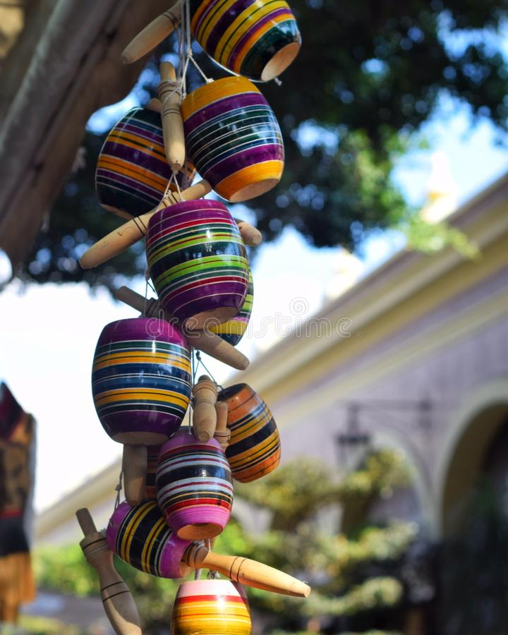 Colgantes de Baleros foto de stock royalty free
