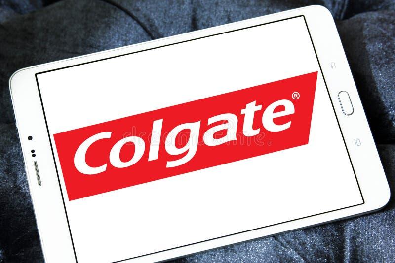 Colgate-embleem stock afbeelding