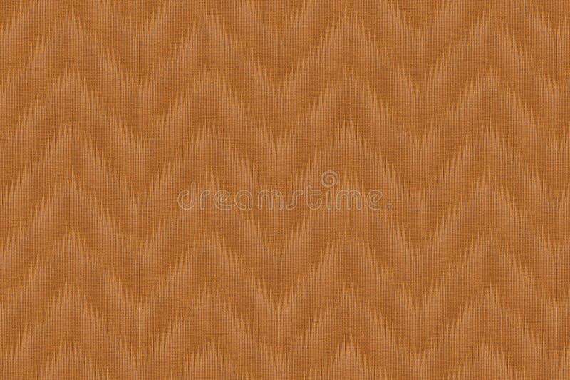 Colha a textura da tela do ouro, superfície do linho do fundo de matéria têxtil, amostra de folha da lona ilustração royalty free