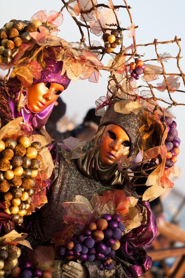 Colheita do outono, praça San Marco, Veneza, Italy fotografia de stock royalty free