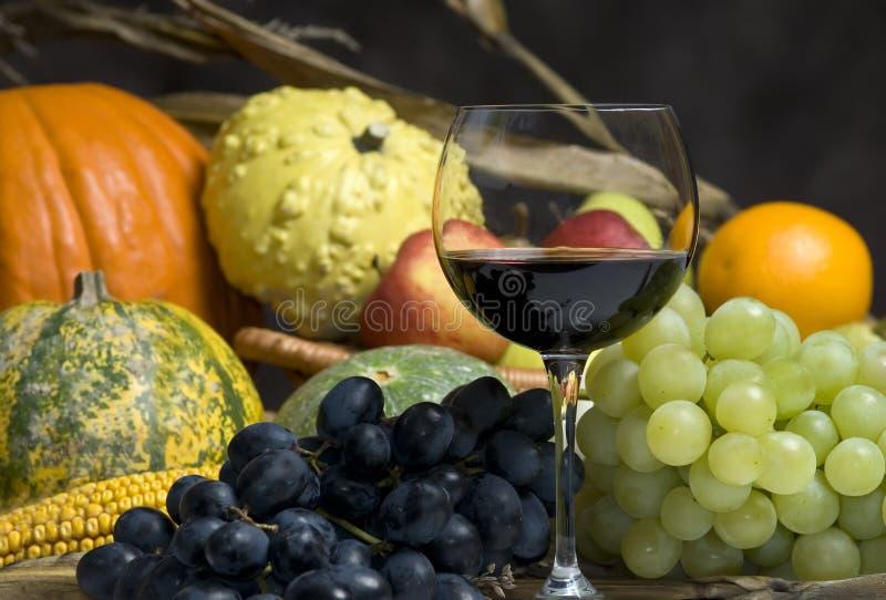 Colheita e vinho do outono imagem de stock royalty free