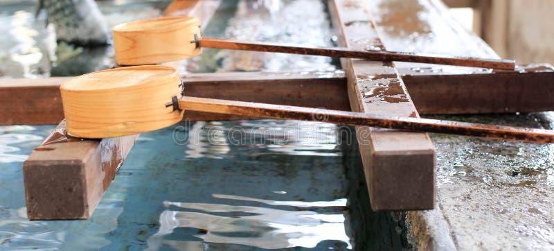Colher da água foto de stock royalty free