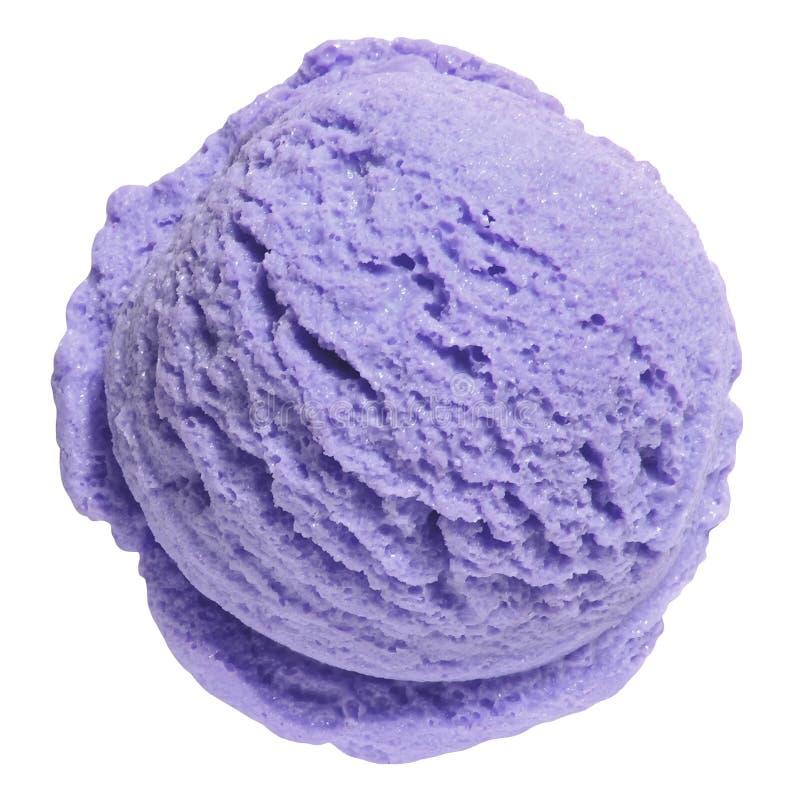 Colher do gelado da uva-do-monte imagens de stock royalty free