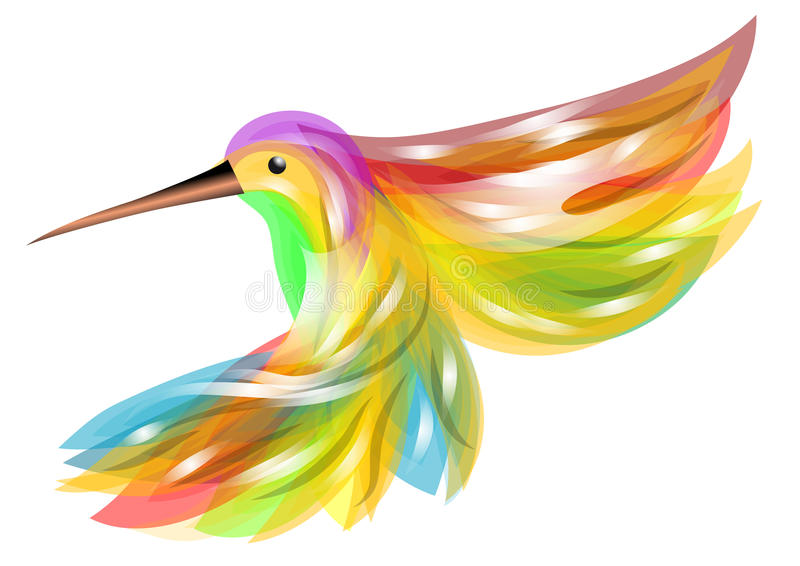 Colibrì illustrazione di stock