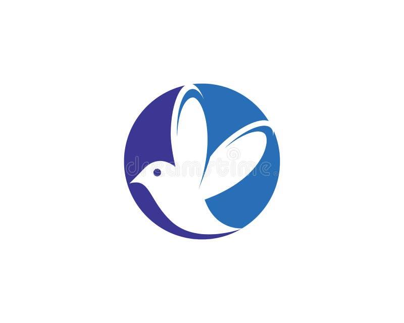 Colibr? Logo Template ilustración del vector