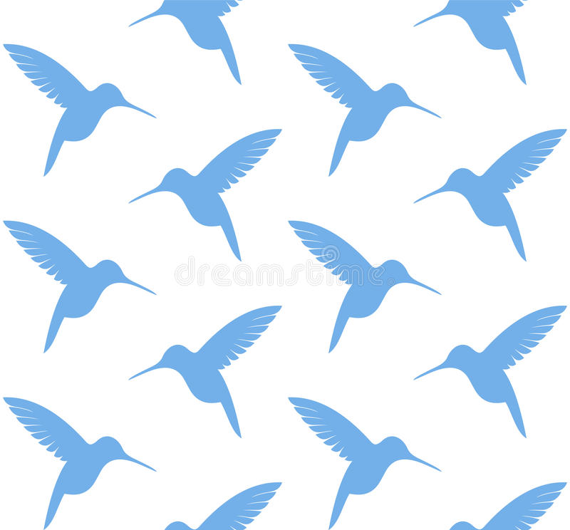 colibri Configuration illustration libre de droits