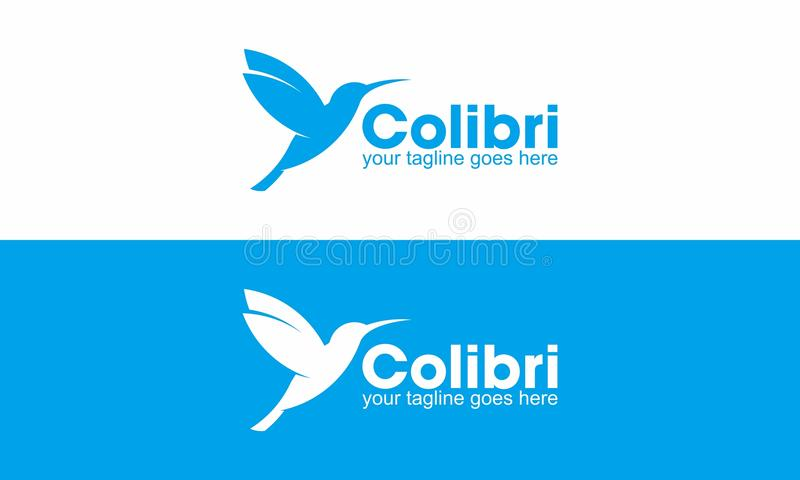 Colibri Logo royalty free illustration
