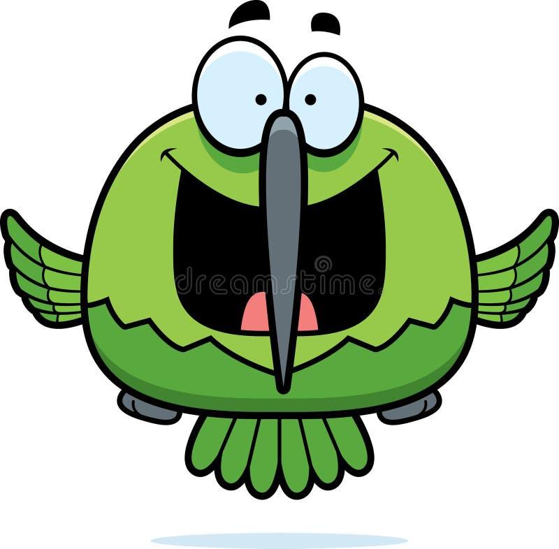 Colibri pequeno feliz ilustração royalty free