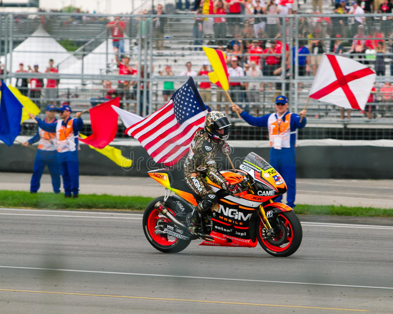 Colin Edwards Indy fotografie stock