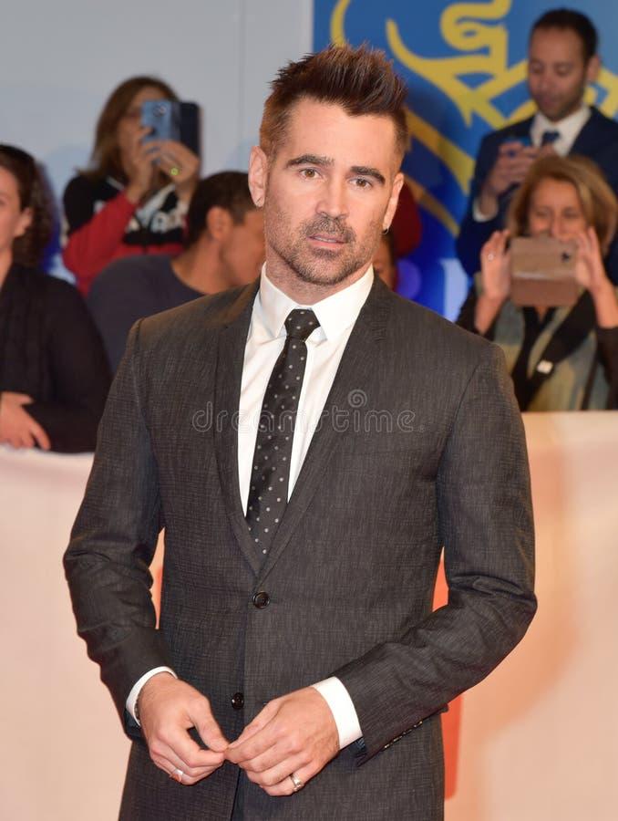 Colin Farrell bij Internationaal de Filmfestival 2018 van Toronto stock foto's
