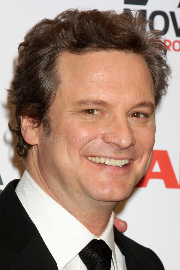 Download Colin Firth editorial stock image. Image of arrives, regent - 20156304