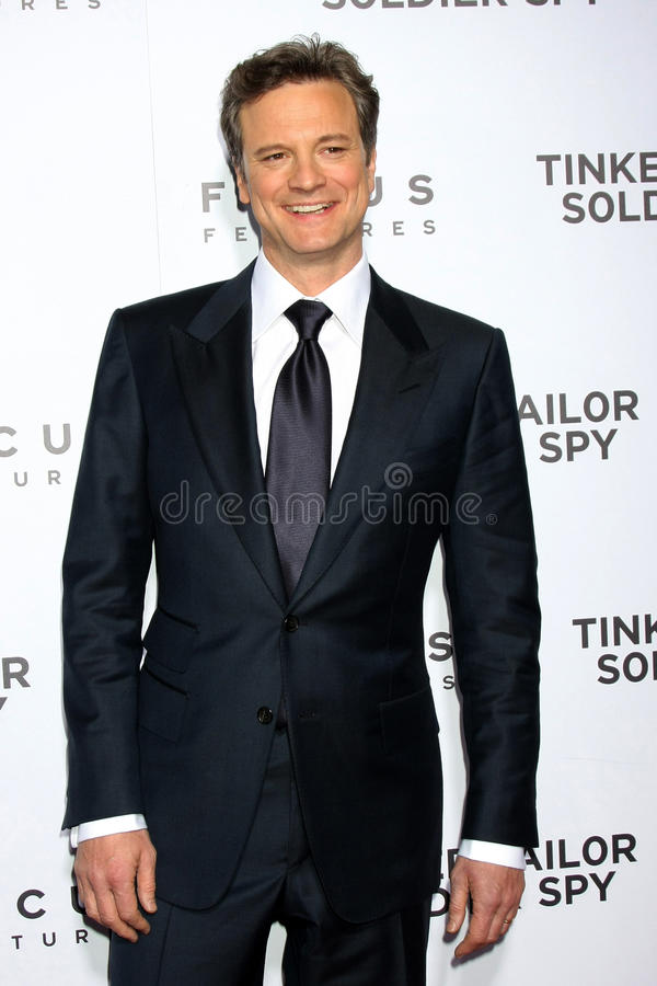 Colin Firth imagens de stock royalty free