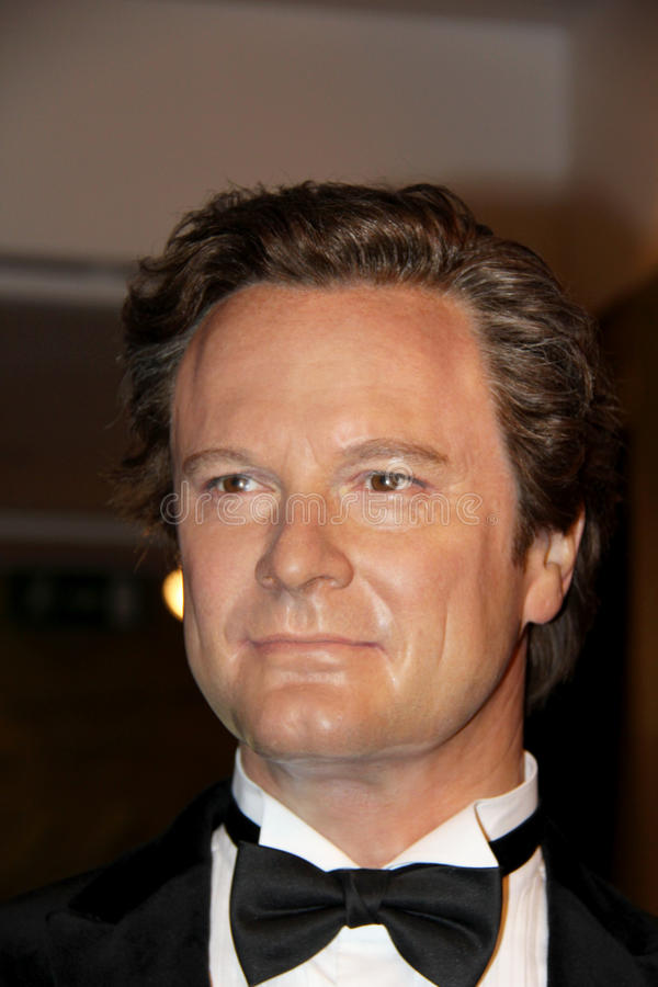Colin Firth royaltyfri fotografi
