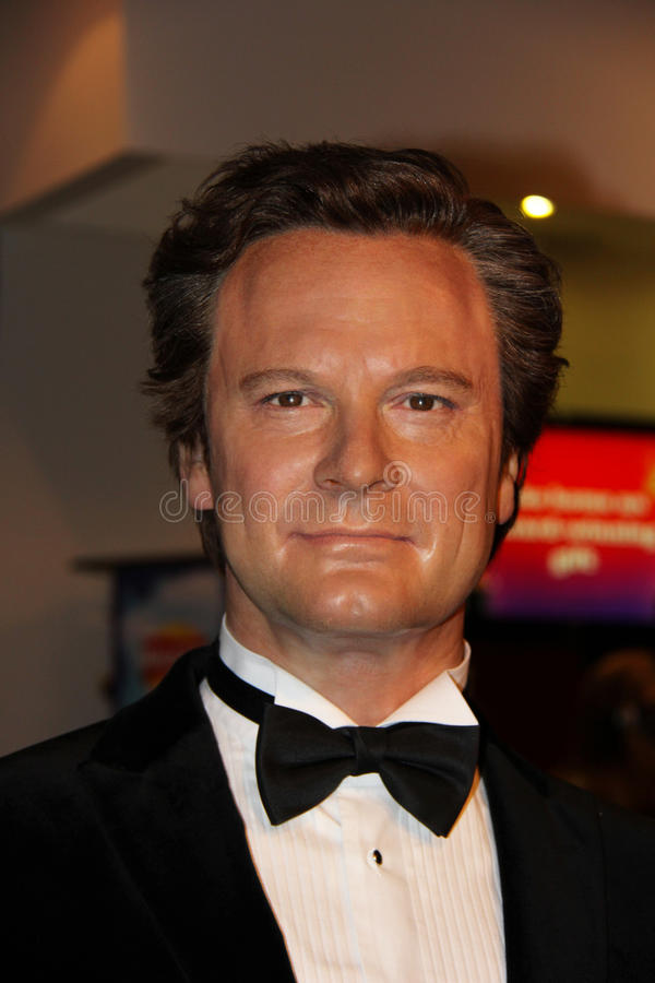Colin Firth royaltyfria bilder