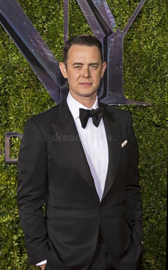 Colin Hanks Arrive bij 2015 Tony Awards stock fotografie