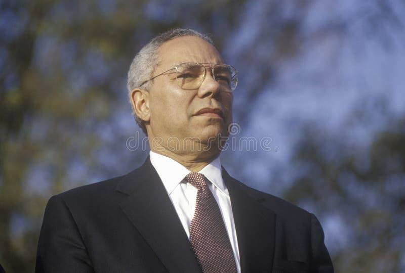 Colin Powell lizenzfreies stockfoto