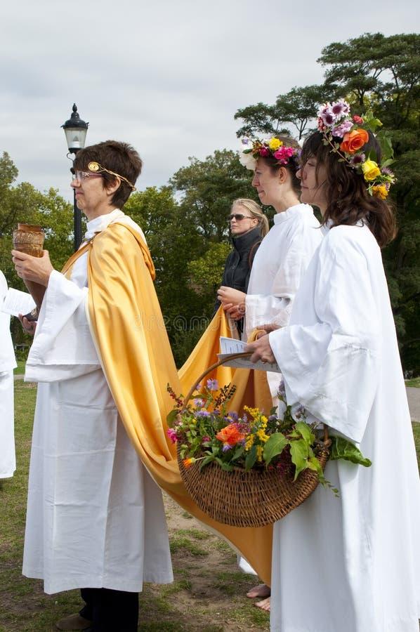Colina 2009 de la primavera del equinoccio del otoño de 02 druidas imágenes de archivo libres de regalías