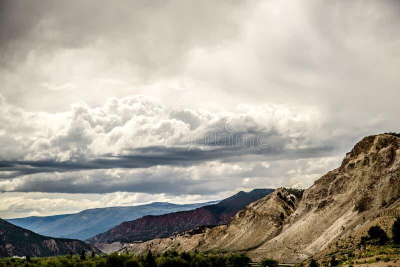 Colina Colorado del escape fotos de archivo