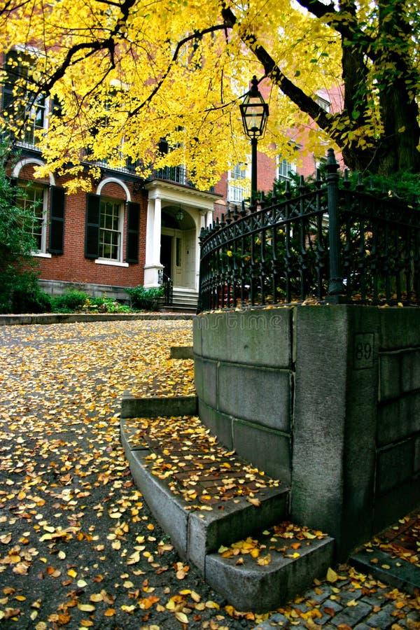 Colina de faro, Boston fotos de archivo