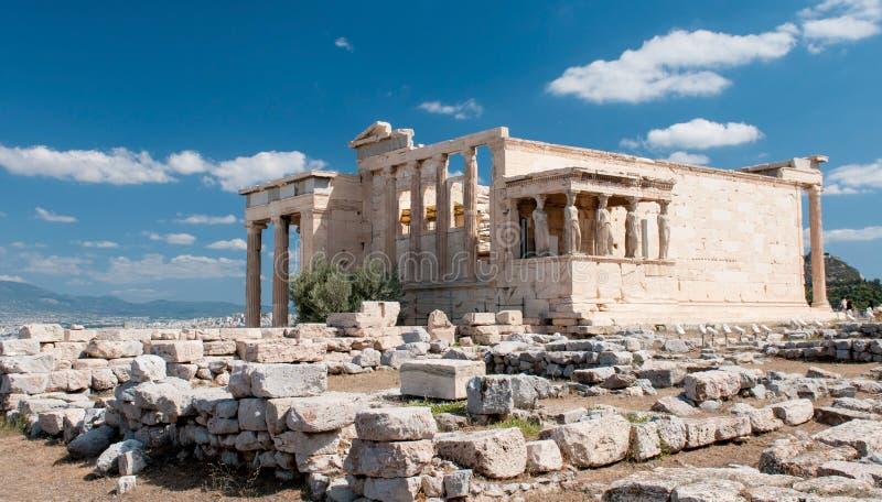 Colina de la acrópolis, Atenas fotografía de archivo libre de regalías