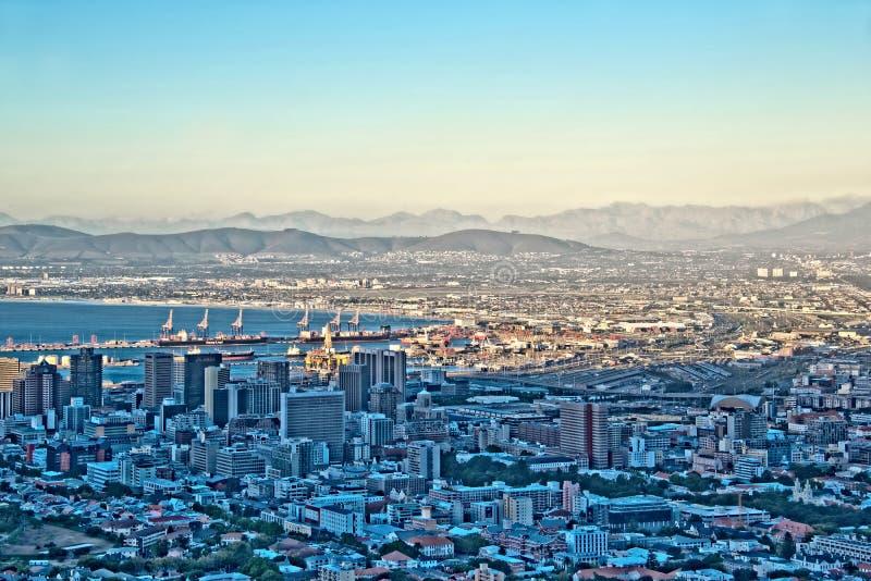 Colina de la señal, Cape Town, Suráfrica fotografía de archivo