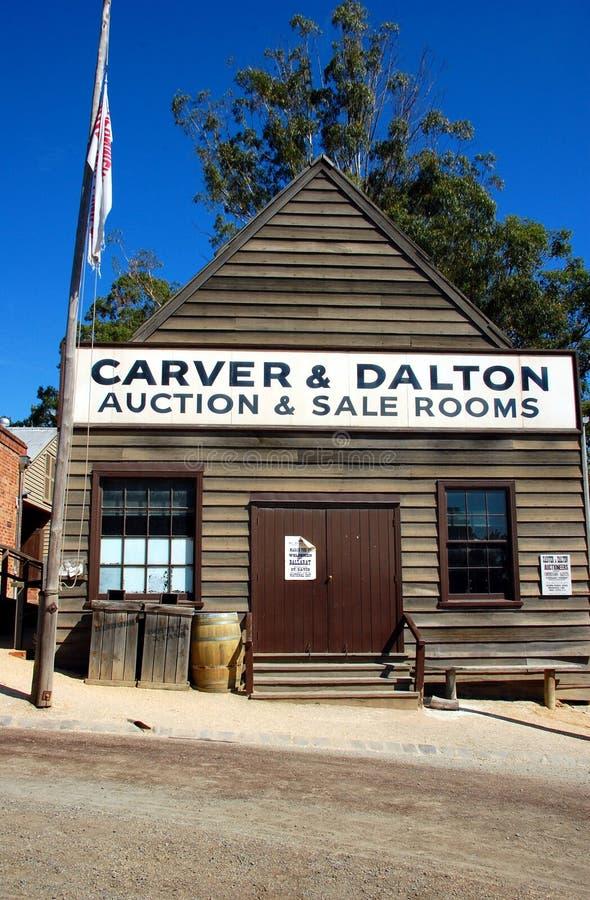 Colina de Sovereing, Ballarat, Australia imagen de archivo libre de regalías